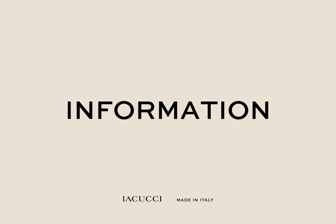 IACUCCI IACUCCIを騙った悪質な模倣品にご注意ください