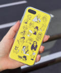 3COINS(スリーコインズ) 【ASOKO】【ASOKO de ART】iPhone7・8ケース