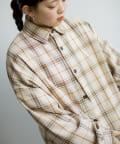 CPCM(シーピーシーエム) 【ユニセックス 男女 兼用】TRビッグチェックシャツ