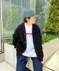 WHO'S WHO gallery(フーズフーギャラリー) 【DEEVOO/ディーヴォ】 ワッフルカーディガン
