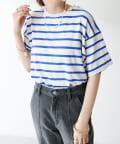 Discoat(ディスコート) 【WEB限定】裾ラウンド半袖Tシャツ≪新色追加!≫