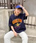 WHO'S WHO gallery(フーズフーギャラリー) 【KOOKY'N/クーキー】刺繍viesityカレッジTEE