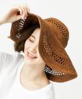 OUTLET premium(アウトレット プレミアム) 【MAISON N.H PARIS(メゾン・エヌ・アッシュ・パリ)】ラフィア帽