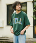 CPCM(シーピーシーエム) 【UCLA/ユーシーエルエー】ミニ裏毛リバーシブルT