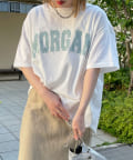 DOUDOU(ドゥドゥ) 【WEB限定】MORGAN ロゴT