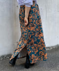 CPCM(シーピーシーエム) 花柄台形スカート