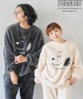 CPCM(シーピーシーエム) 【PEANUTS / ピーナッツ 】スヌーピーボアセットアップ