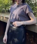 Loungedress(ラウンジドレス) オーガニックコットン フレンチTシャツ