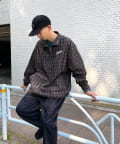 WHO'S WHO gallery(フーズフーギャラリー) 【KOOKY'N/クーキー】スタジアムウォームアップハーフジップ