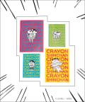 3COINS(スリーコインズ) 【ASOKO】【クレヨンしんちゃん】クリアファイル4枚セット