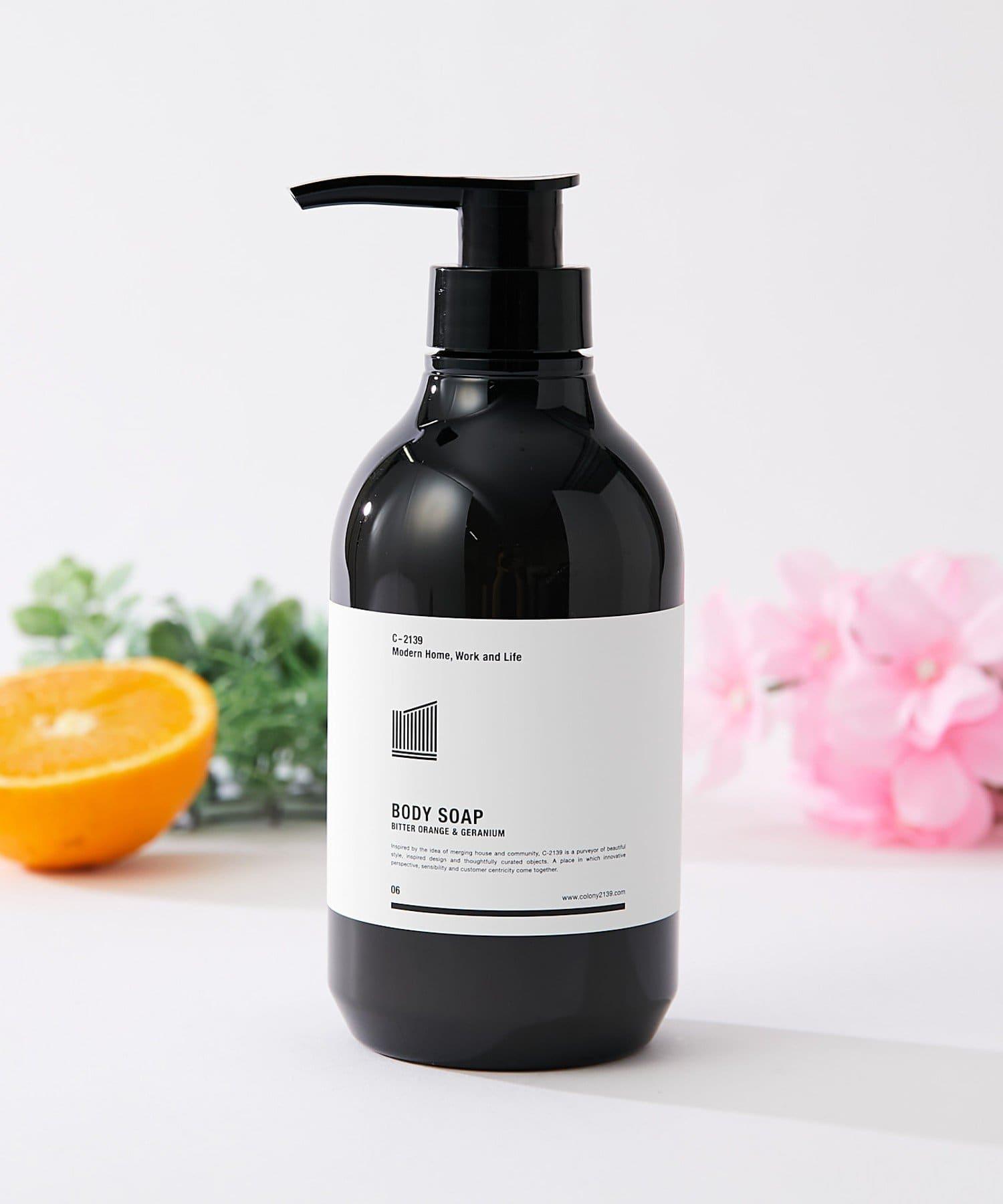 COLONY 2139(コロニー トゥーワンスリーナイン) ライフスタイル ボディソープ(ビターオレンジ&ゼラニウムの香り) ブラック