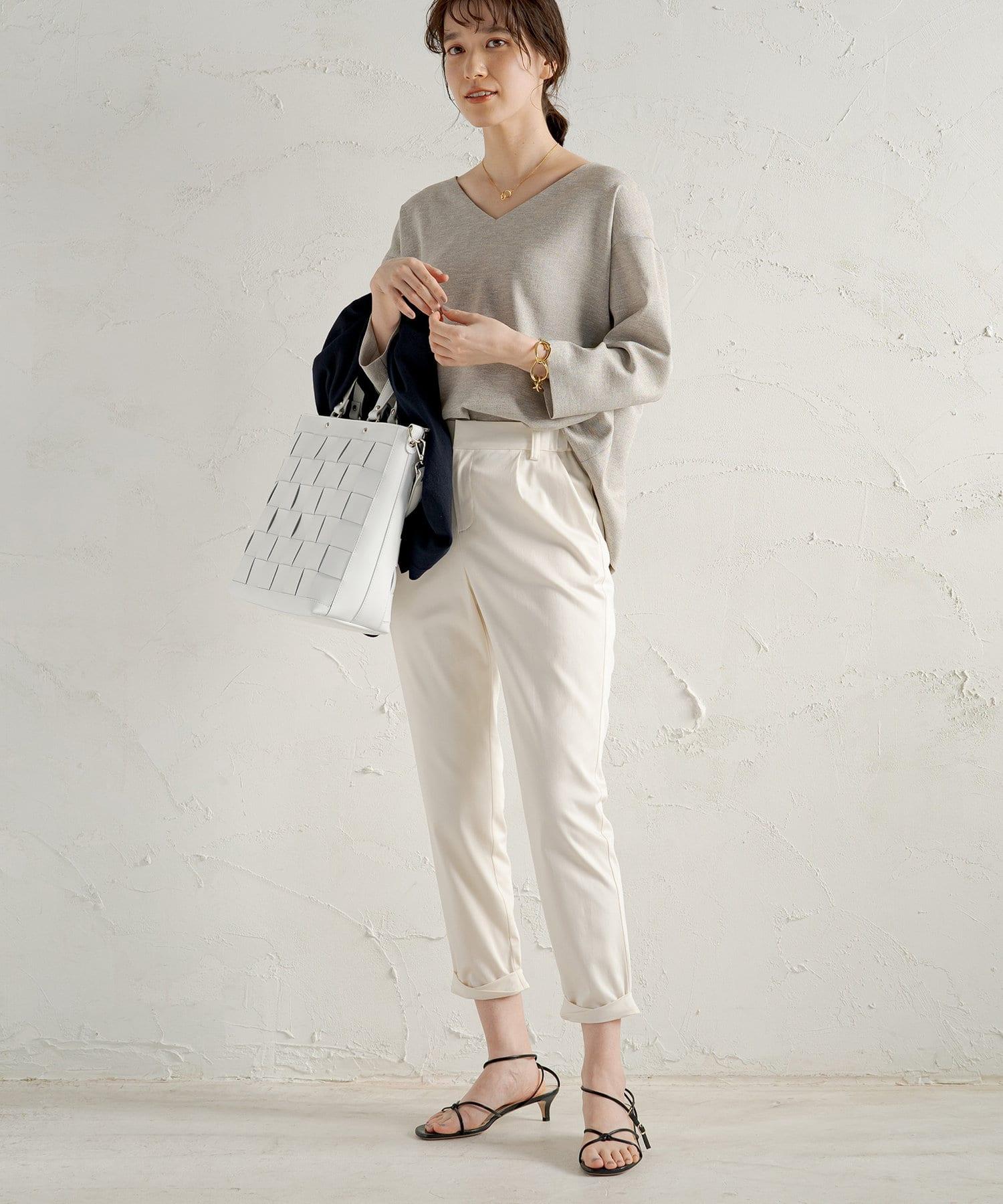 Loungedress(ラウンジドレス) 【定番人気】裾ねじりパンツ
