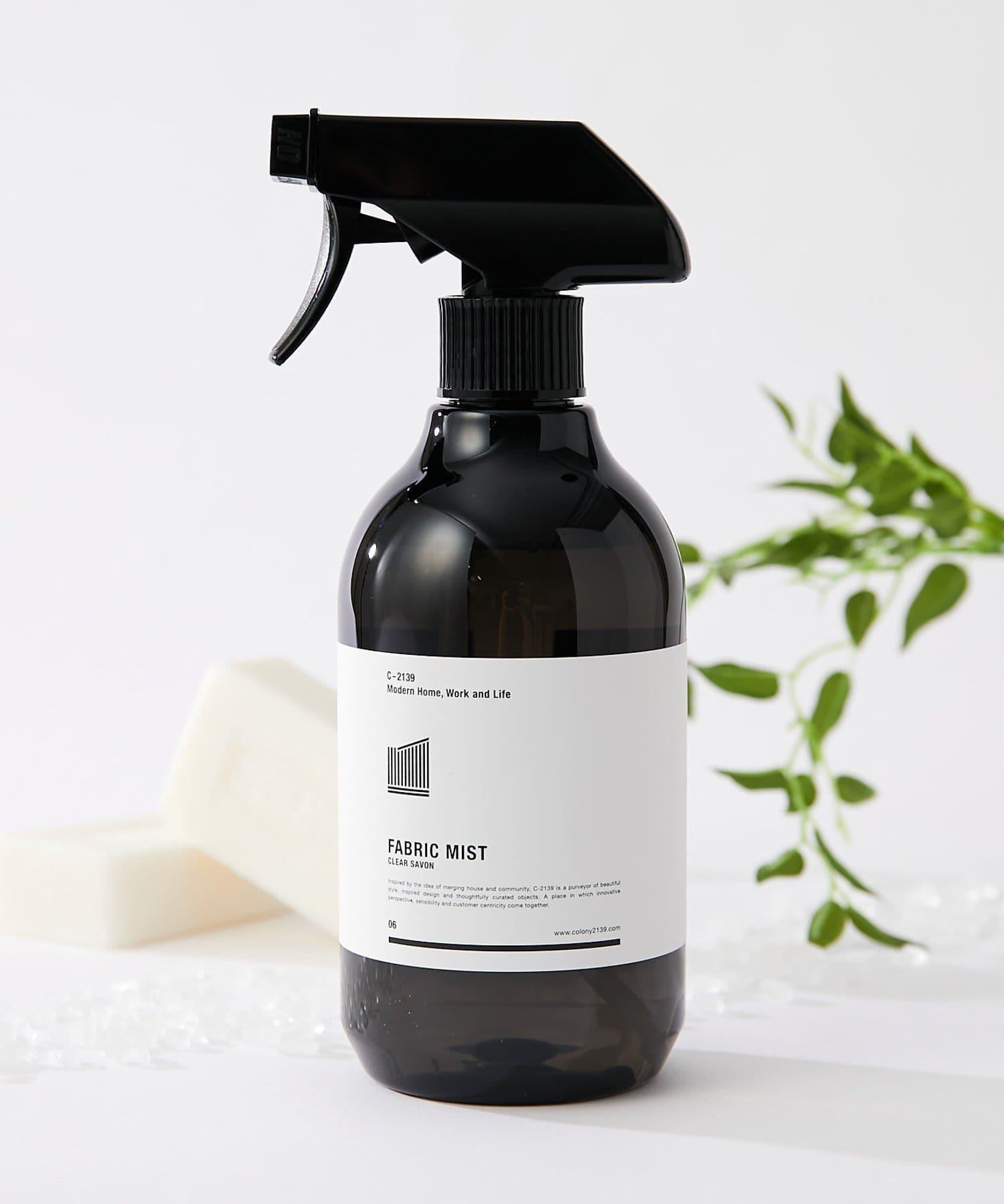 COLONY 2139(コロニー トゥーワンスリーナイン) ライフスタイル ファブリックミスト(クリアサボンの香り) ブラック