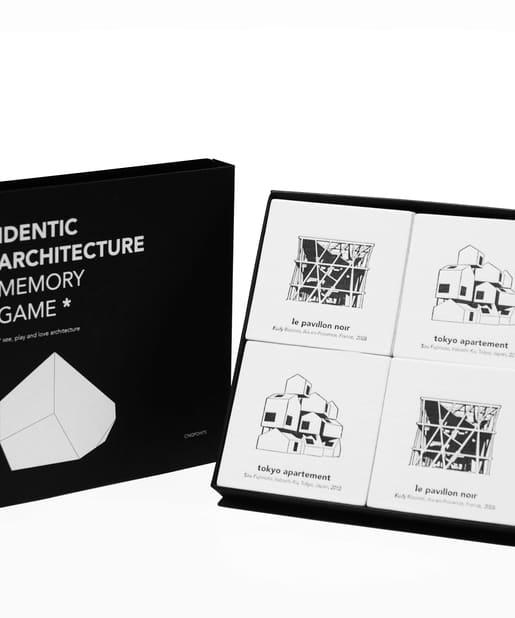 BONbazaar(ボンバザール) BONbazaar(ボンバザール) 《カードゲーム》【Cinqpoints】アイデンティック建築記憶ゲーム カラーなし