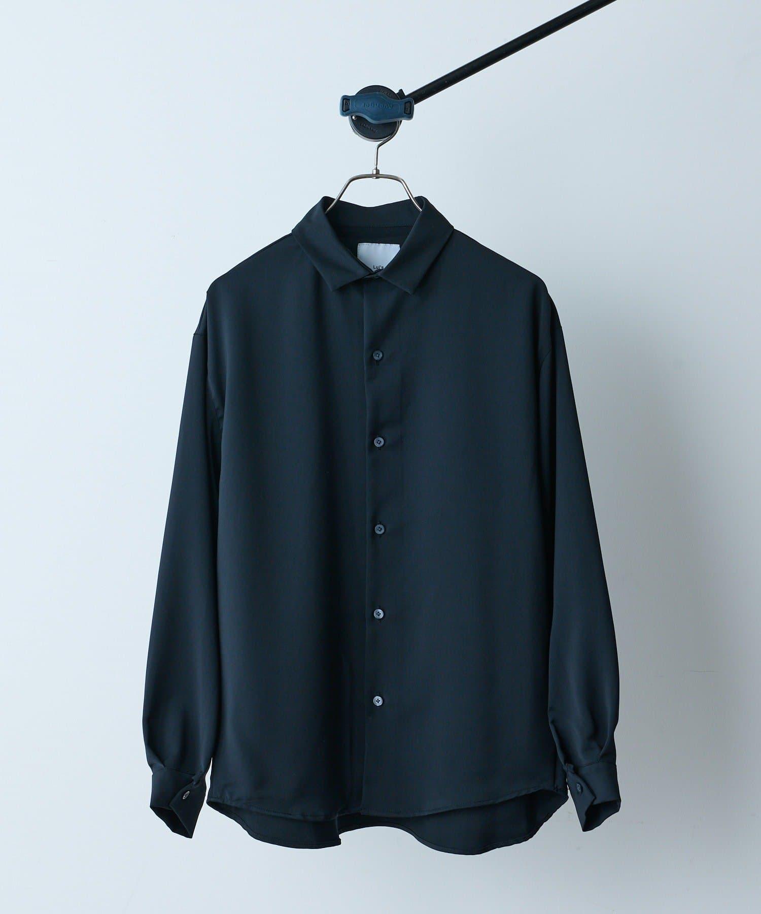 Lui's(ルイス) NEW パウダーサテン袖ボリュームシャツ