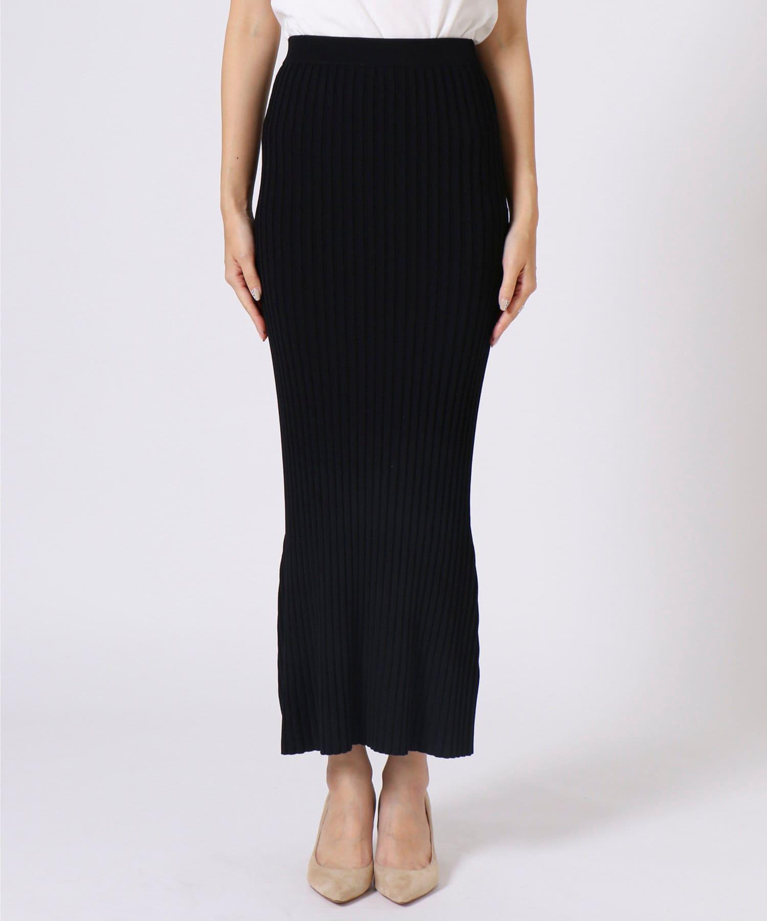 Whim Gazette(ウィム ガゼット) ニットフィットスカート