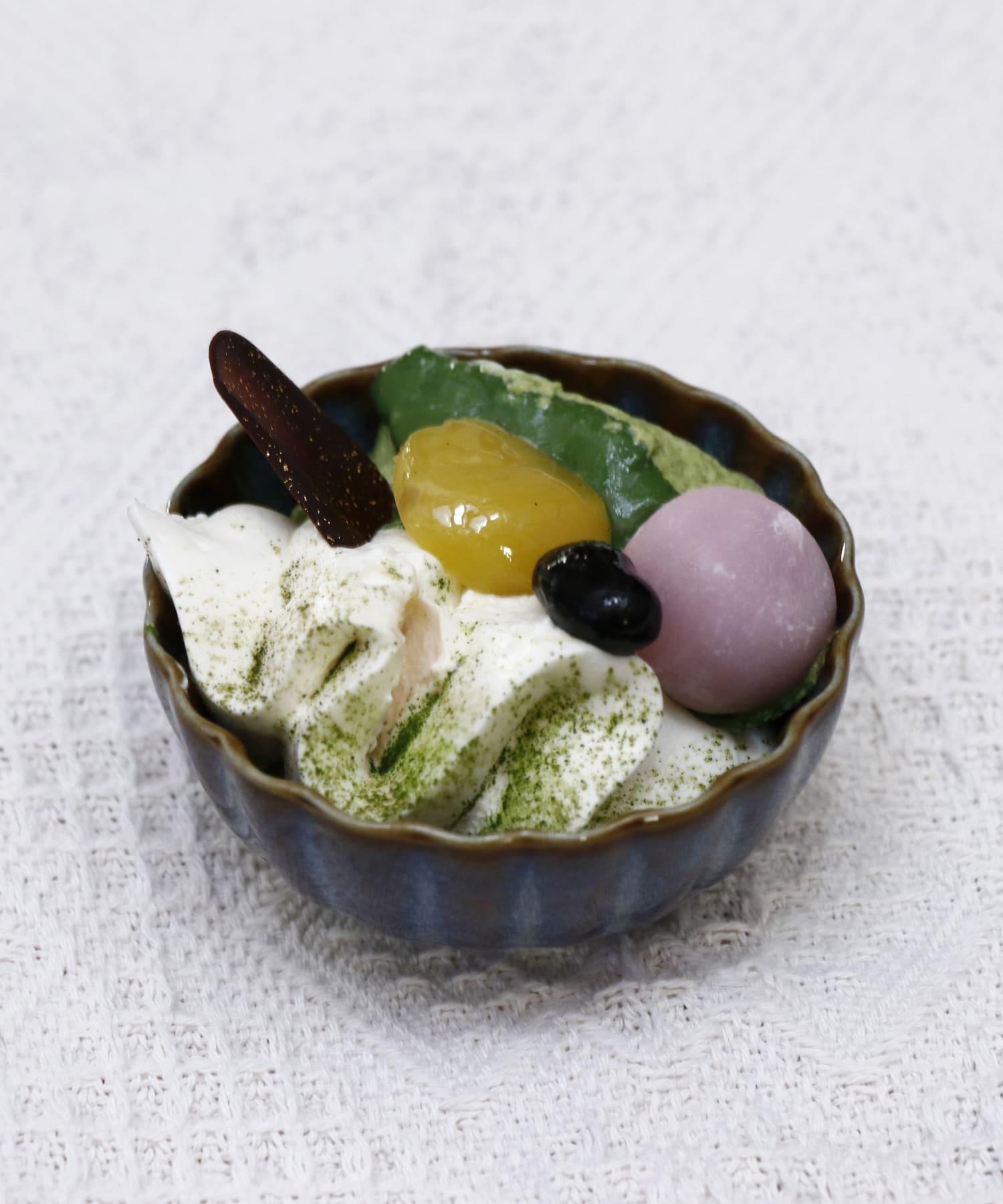 salut!(サリュ) salut!(サリュ) 【おしゃれな和食器】菊小鉢8cm ブルー