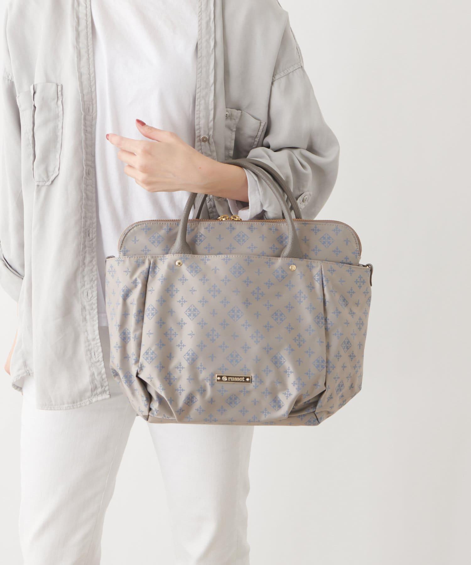russet(ラシット) 【バッグインバッグ付き】バルーンシルエット マルチウェイバッグ