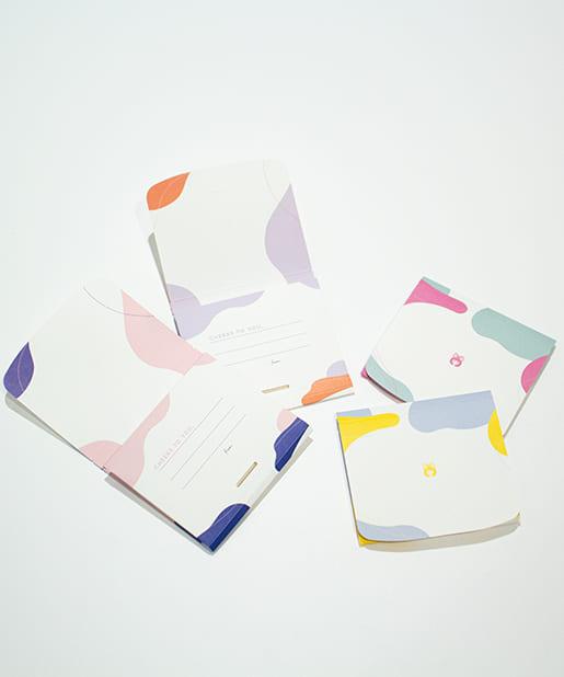 baseyard tokyo(ベースヤード トーキョー) 【りぼん創刊65周年プロジェクト】レターセットナプキン