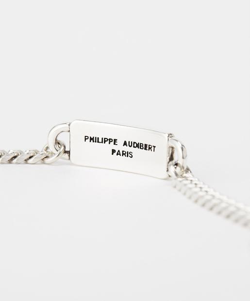 Whim Gazette(ウィム ガゼット) 【PHILIPPE AUDIBERT】プレートチェーンブレスレット
