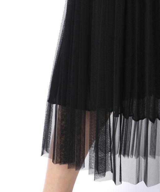 Whim Gazette(ウィム ガゼット) 【LOYD/FORD】チュールプリーツスカート