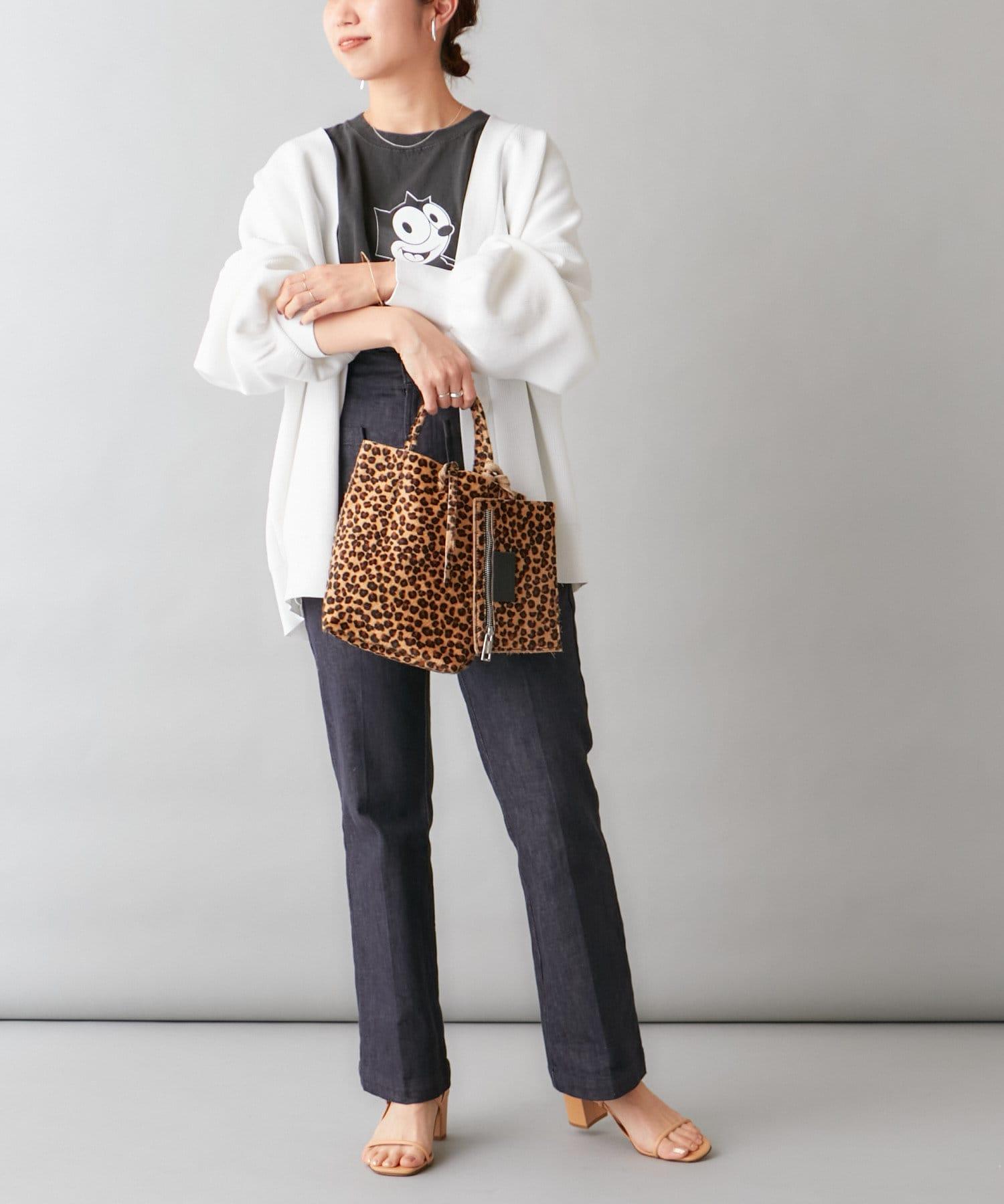 Omekashi(オメカシ) 【WEB限定】Marlon Firenze レオパードミニバッグ