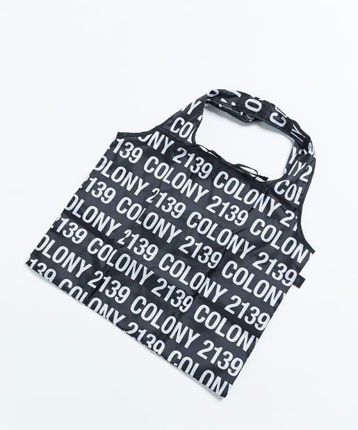 COLONY 2139(コロニー トゥーワンスリーナイン) レディース エコバッグ2/サブバッグ ブラックその他2