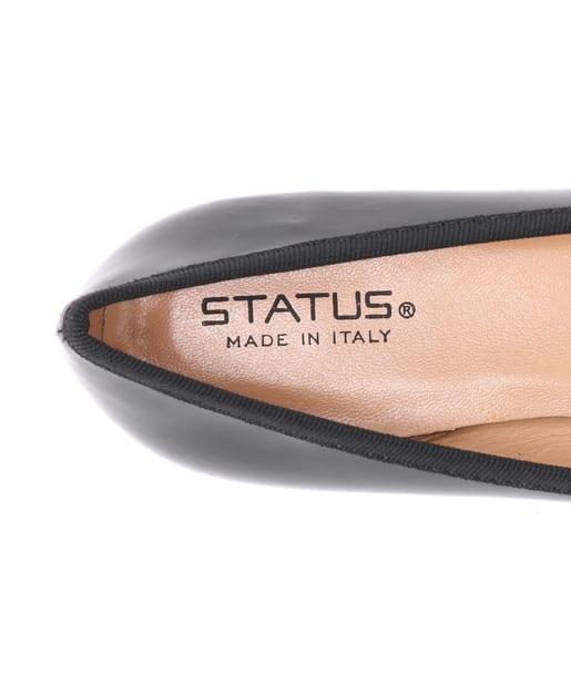 La boutique BonBon(ラブティックボンボン) 【STATUS(スタートゥス) 】パテントポインテッドバレエシューズ