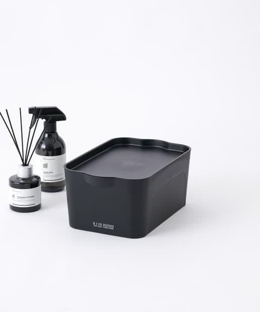 COLONY 2139(コロニー トゥーワンスリーナイン) ライフスタイル スタッキング収納ボックス(小) ブラック