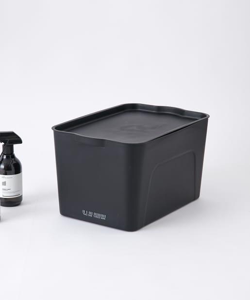 COLONY 2139(コロニー トゥーワンスリーナイン) ライフスタイル スタッキング収納ボックス(大) ブラック