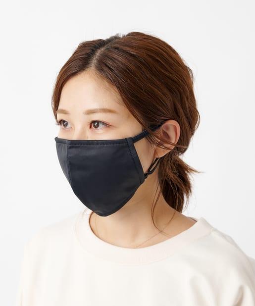 COLONY 2139(コロニー トゥーワンスリーナイン) ライフスタイル ウォッシャブルクールタッチマスク/洗えるマスク ブラック