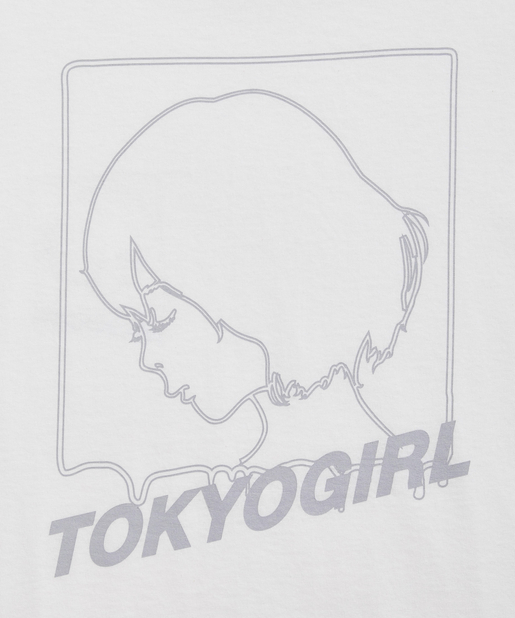 WHO'S WHO gallery(フーズフーギャラリー) 《WEB限定》東京ガール L/S TEE