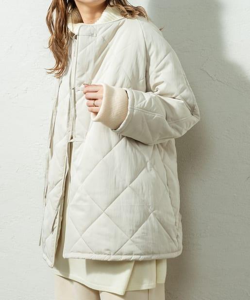 mystic(ミスティック) 中綿キルティングショートジャケット