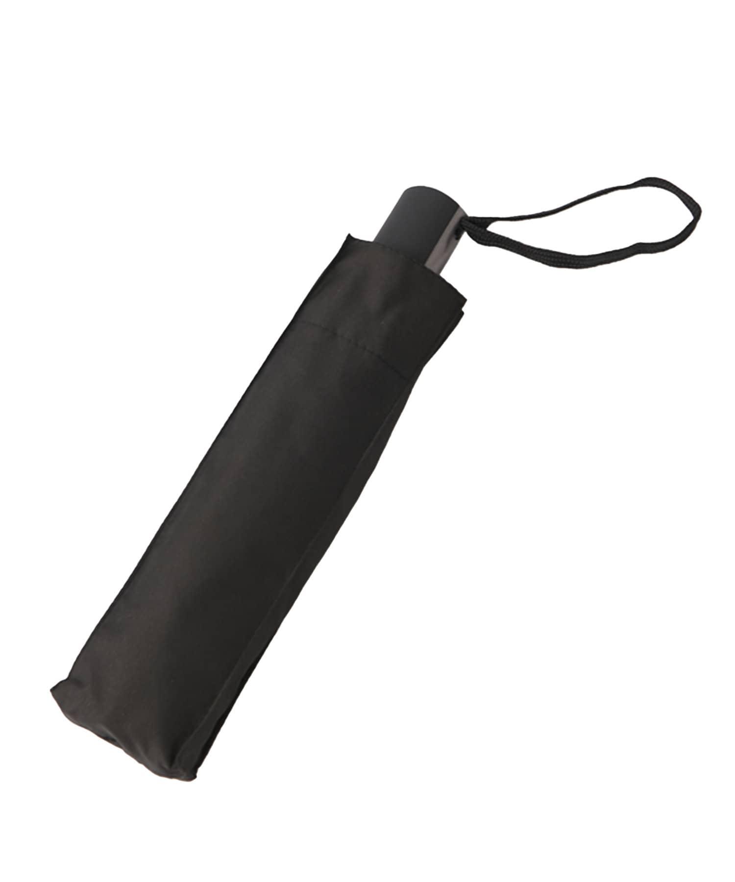 3COINS(スリーコインズ) ライフスタイル 自動開閉折り畳み傘 ブラック