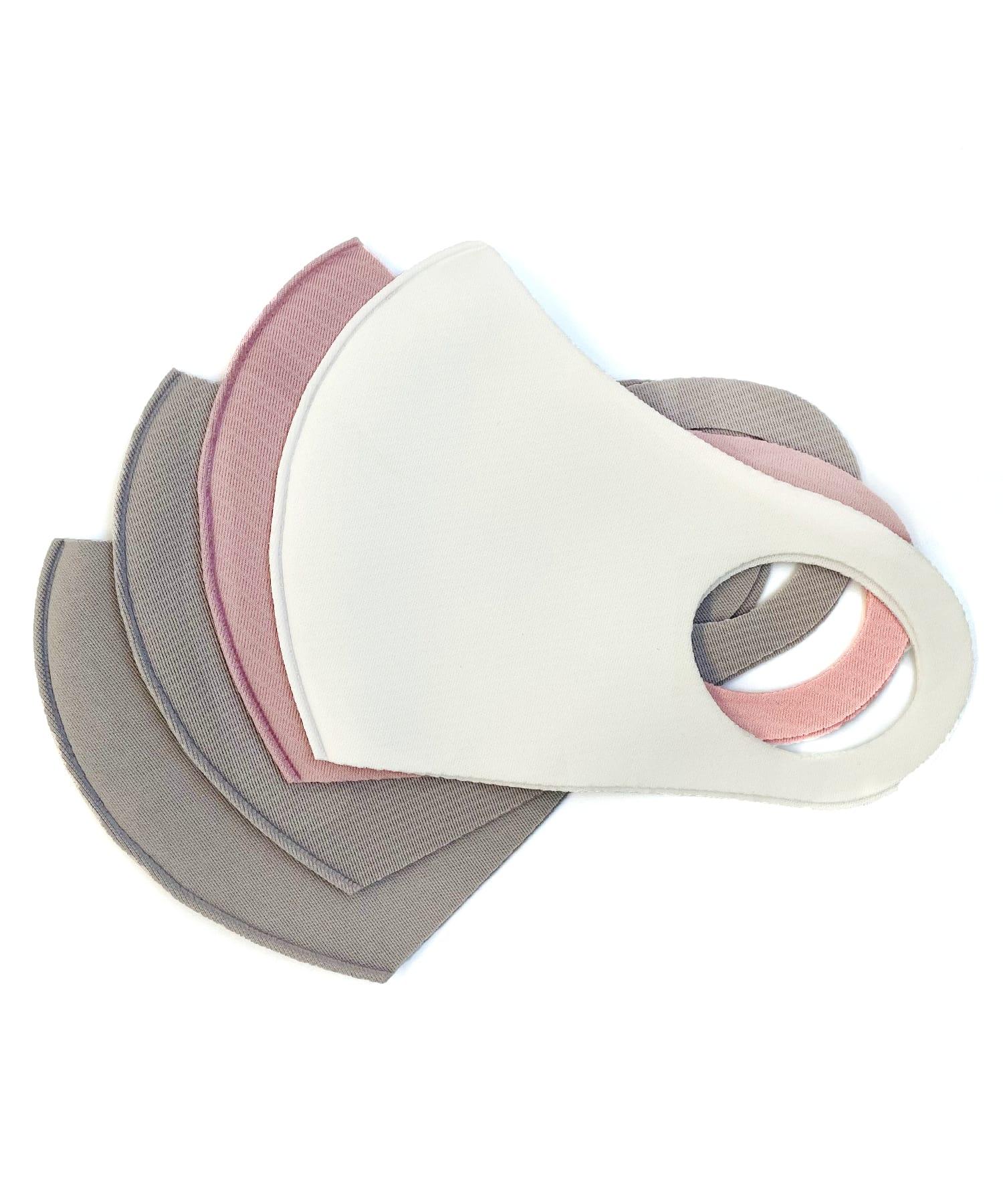 3COINS(スリーコインズ) ライフスタイル 【普通サイズ】洗えるマスク4枚入 その他