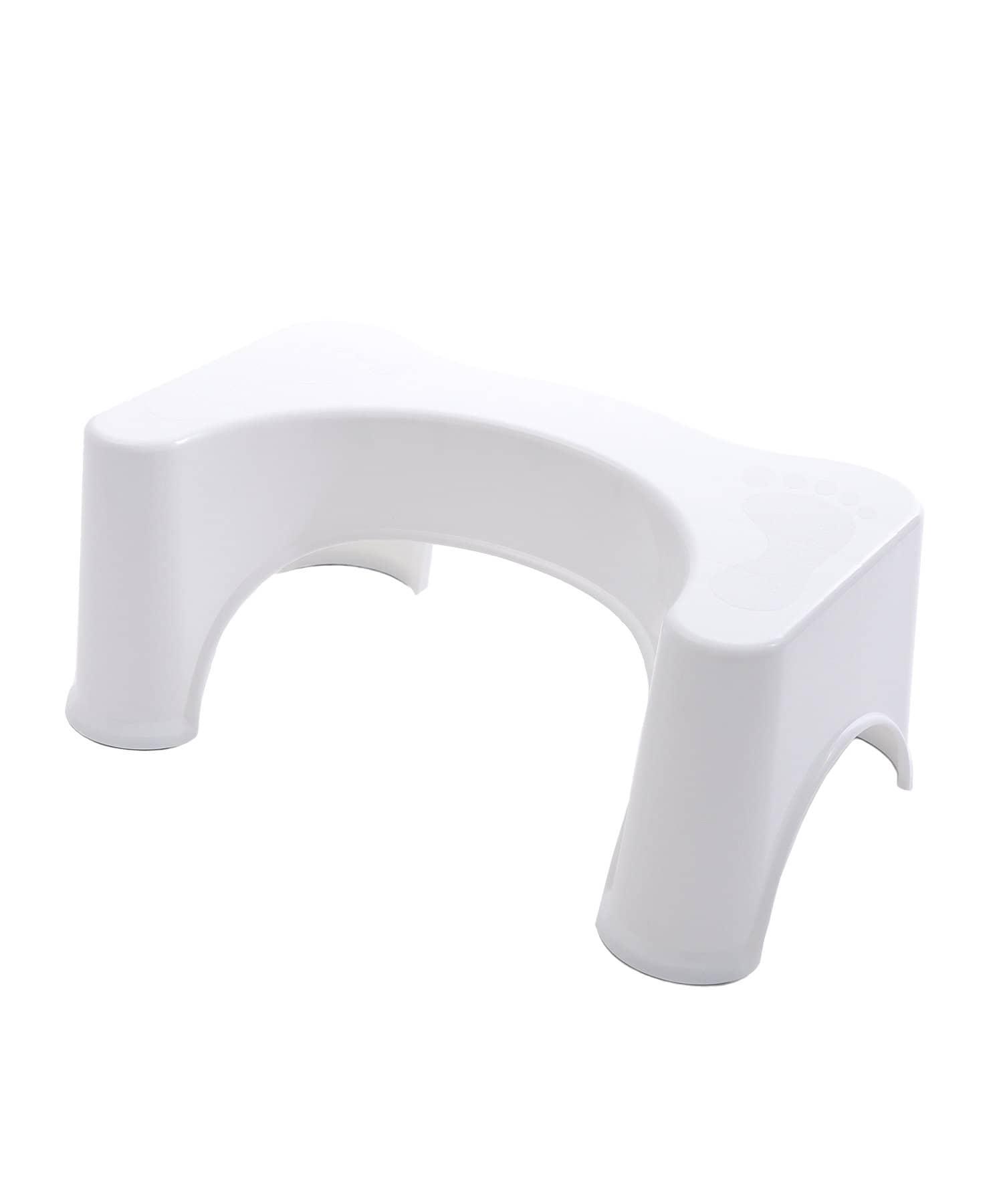 3COINS(スリーコインズ) 3COINS(スリーコインズ) トイレ踏み台 ホワイト