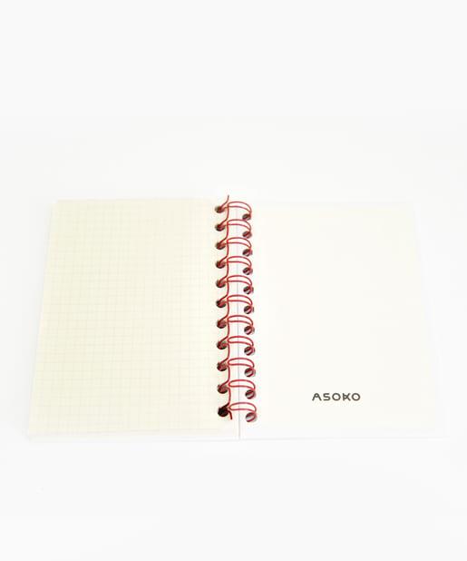 3COINS(スリーコインズ) 【ASOKO】【buggy】A6リングノート