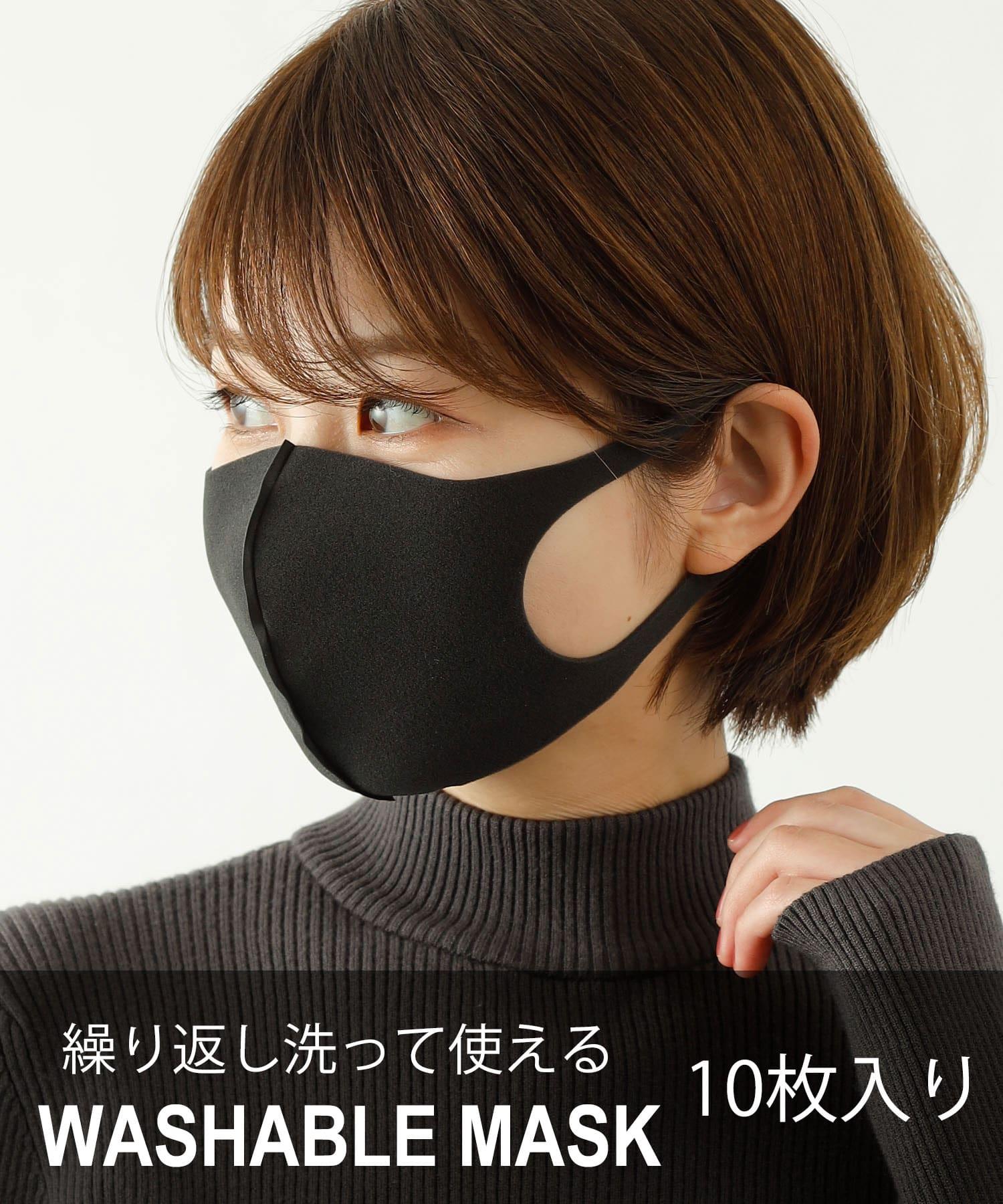 COLONY 2139(コロニー トゥーワンスリーナイン) ライフスタイル 【10枚セット】ウォッシャブルマスク/洗えるマスク ブラック