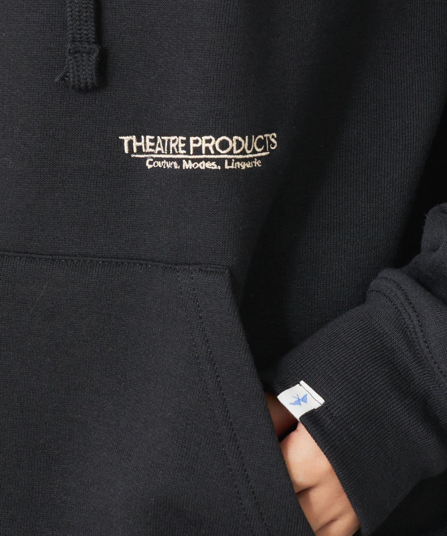 pual ce cin(ピュアルセシン) 【WEB限定】THEATRE PRODUSTS ロゴ刺繍パーカー