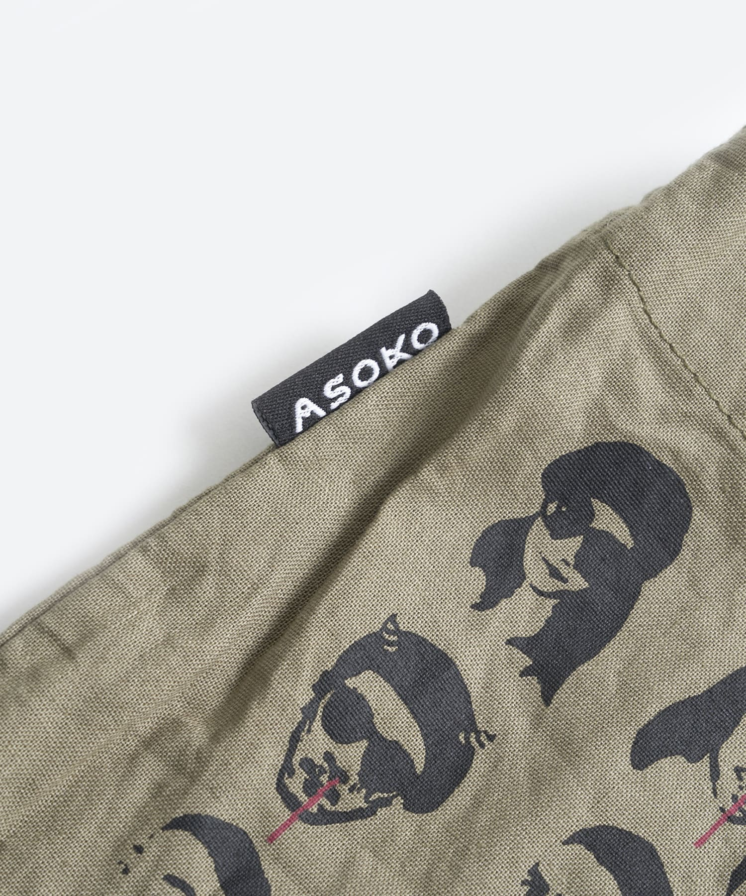 ASOKO(アソコ) 【WEB限定】buggy柄ワンショルダーバッグ