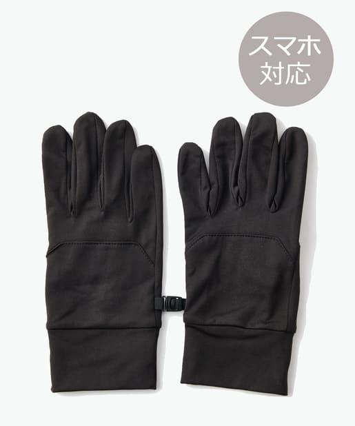 COLONY 2139(コロニー トゥーワンスリーナイン) レディース 【ユニセックス】抗菌抗ウイルスセーフティグローブ/手袋 ブラック
