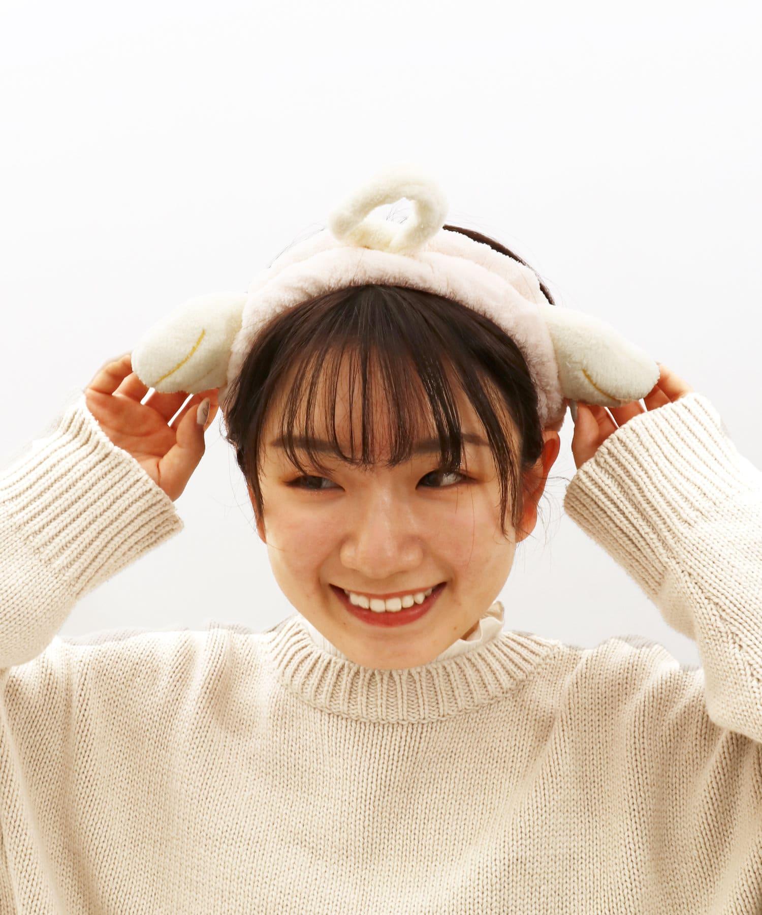 3COINS(スリーコインズ) 【ASOKO】猫耳&天使のヘアターバン