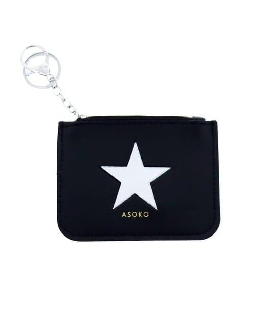 PAL CLOSET ONLINE STOREで買える「ASOKO(アソコ レディース スター パスケース ブラック」の画像です。価格は330円になります。