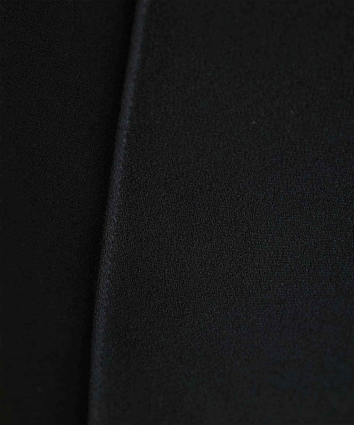GALLARDAGALANTE(ガリャルダガランテ) 【CEPIE.】ダブルジョーゼットピンタックパンツ