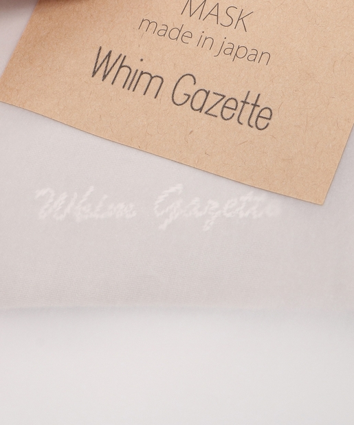 Whim Gazette(ウィム ガゼット) シルクインサイドマスク