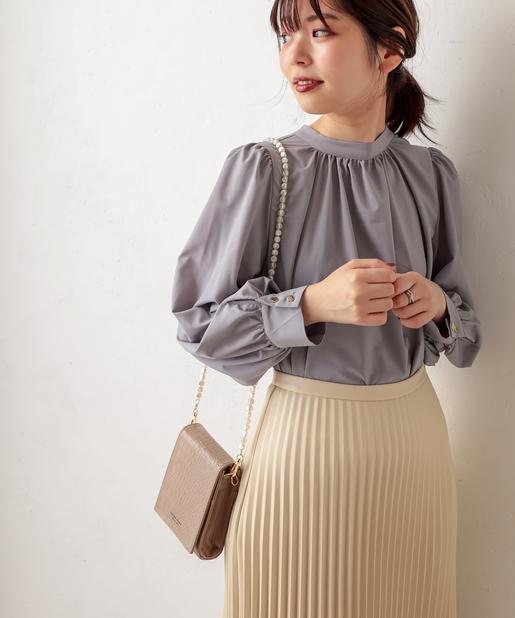 natural couture(ナチュラルクチュール) 【WEB限定カラー有り】ミラーイン多機能ショルダー