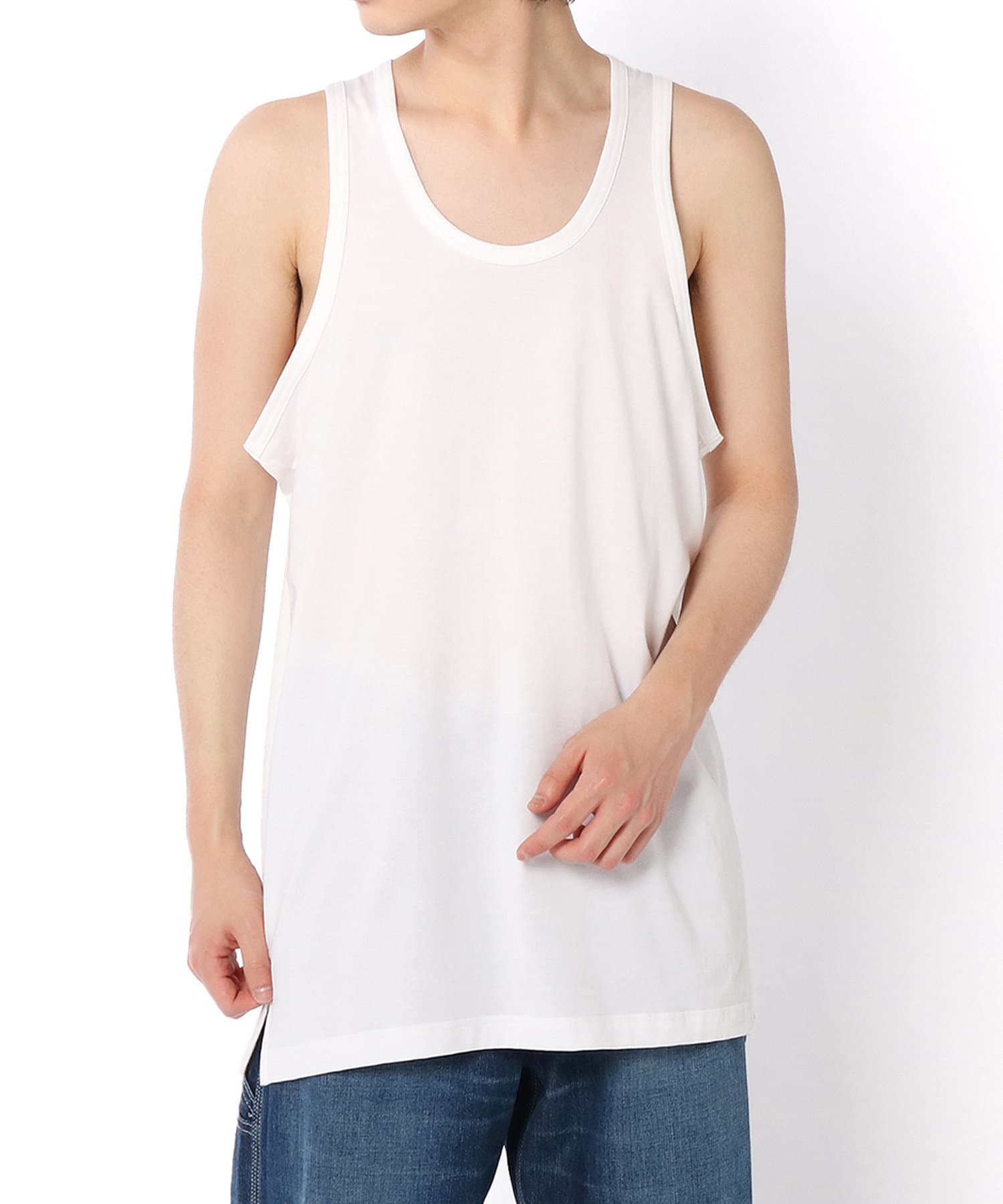 Lui's(ルイス) 【Y-3】 M CLASSIC PAPER JERSEY TANK TOP