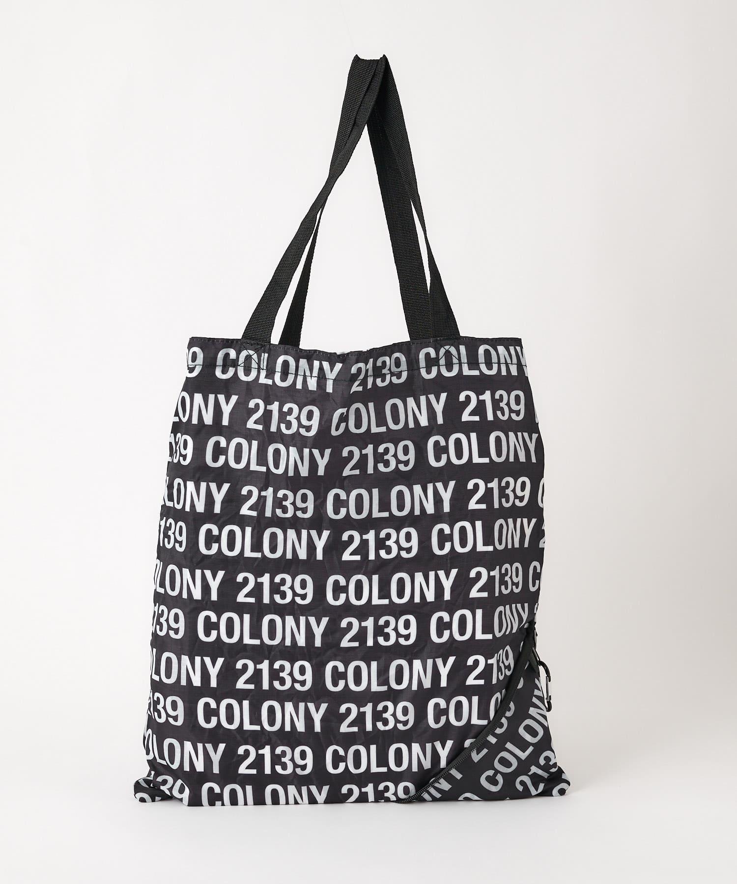 COLONY 2139(コロニー トゥーワンスリーナイン) レディース トライアングルエコバッグ ブラックその他2