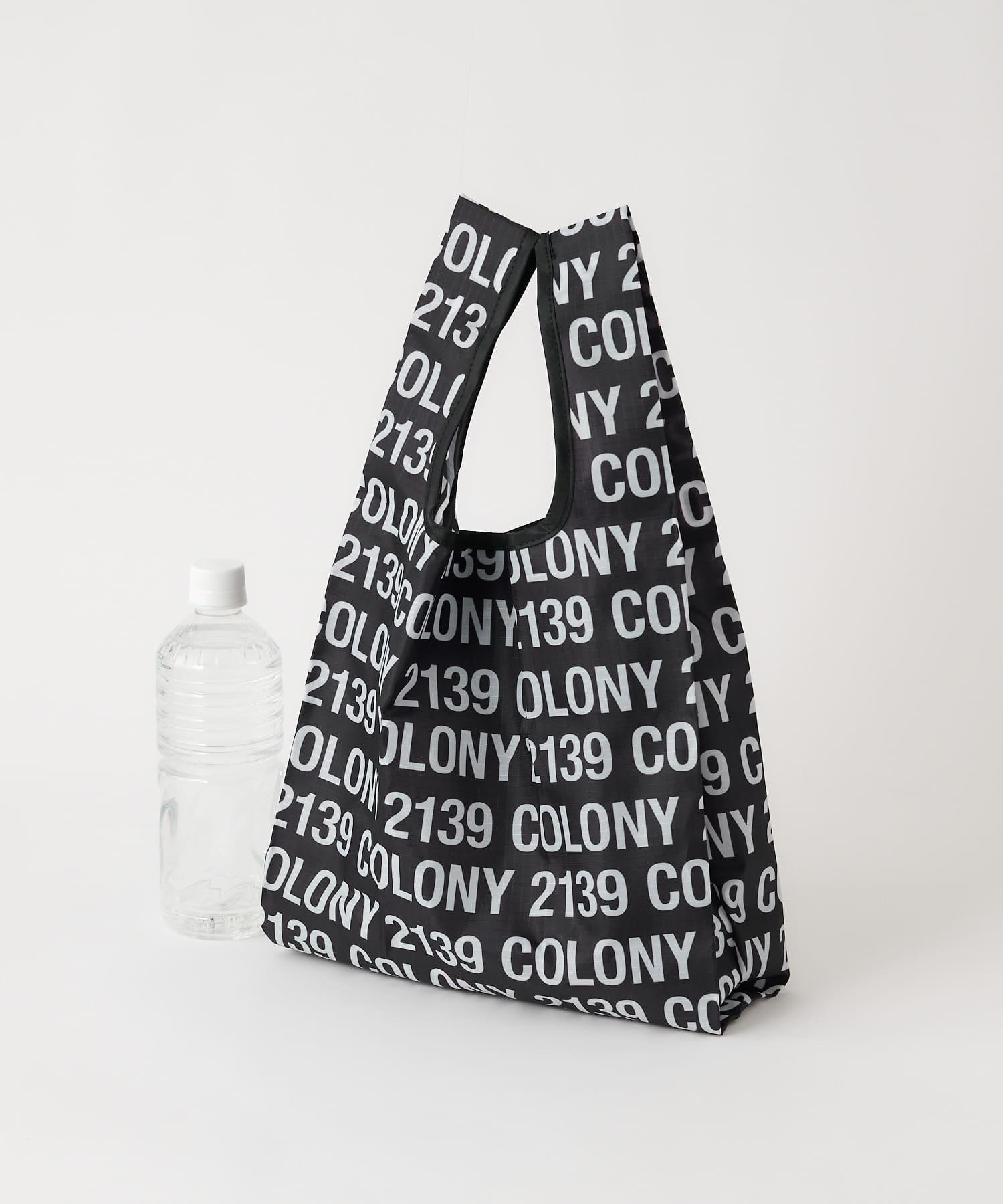 COLONY 2139(コロニー トゥーワンスリーナイン) レディース ミニショッパーエコバッグ ブラックその他2