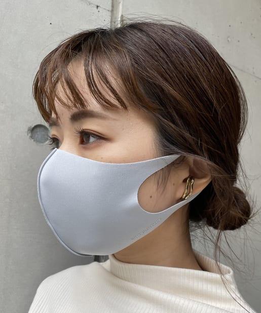 CAPRICIEUX LE'MAGE(カプリシュレマージュ) 〈マスクポーチ付き〉Ag抗菌マスク